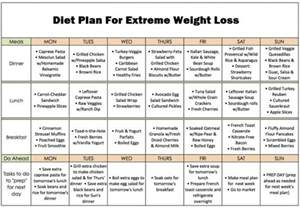 easy at home diet plans diet plan for extreme weight loss fitness house