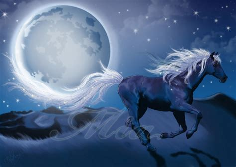 wallpaper blue horse blue horse by emiliapaw5 on deviantart