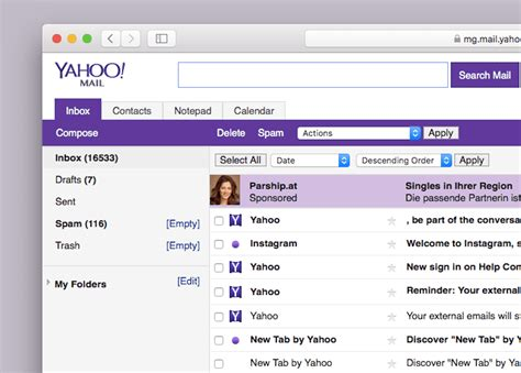 email yahoo be how to switch to yahoo mail basic