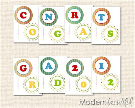 printable banner congratulations 1000 images about graduation party on pinterest beach