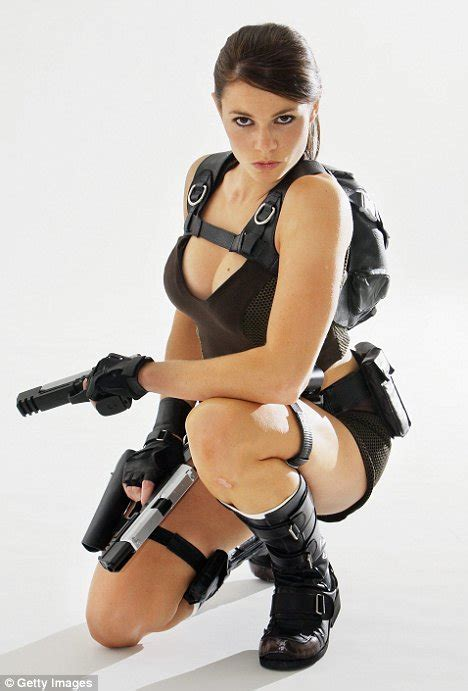 as croft lara alison carroll pictured the new lara croft is unveiled as a former