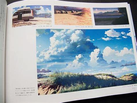 Anime Magazine Vertical Licenses Makoto Shinkai Art Book