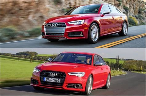 Audi S4 Vs S6 by 2018 Audi S4 Vs 2018 Audi S6 To U S News