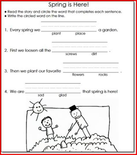 3rd Grade Reading And Writing Worksheets by 20 Gallery Of Reading And Writing Worksheets For 1st Grade