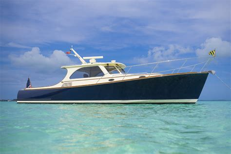 hinckley picnic boat interior barton gray mariners club