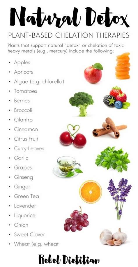 Foods That Help Detox Your Of Heavy Metals by Toxic Heavy Metals And Detox Chelation Therapies