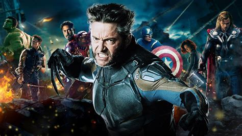 imagenes de x men en 3d hugh jackman wants wolverine to join the avengers onscreen