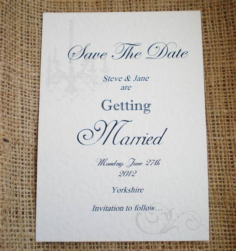 Handmade Save The Date Cards - save the date cards