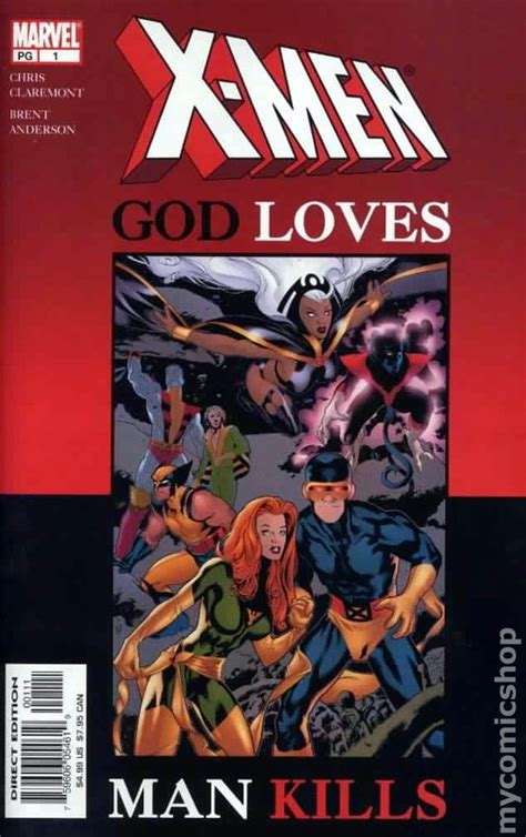 x men god loves man x men god loves man kills gn 2003 marvel special edition comic books