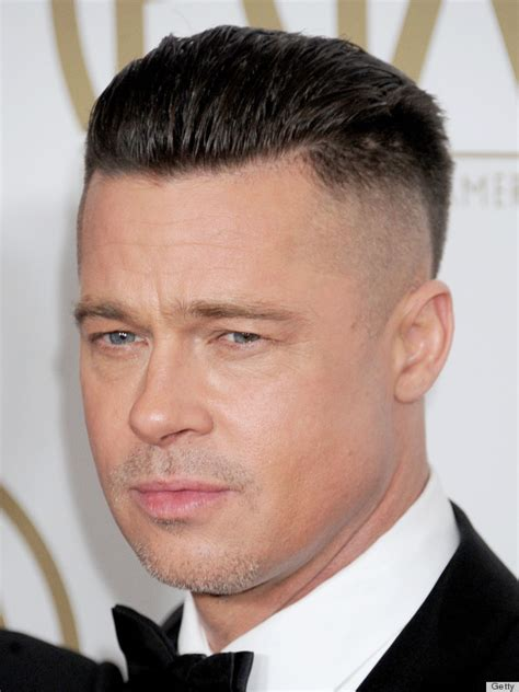 best brat brad pitt s new hair is for a but we re hoping he