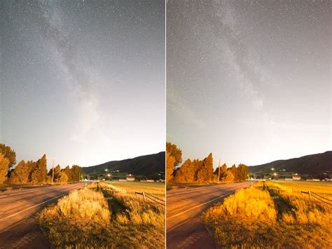 what color are the why are the colors so different in these two photos from