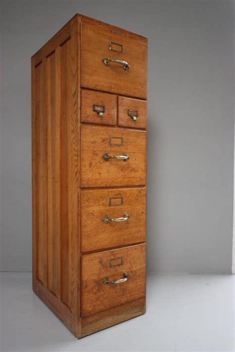 Edwardian Antique Oak Filing Cabinet.   Antiques Atlas