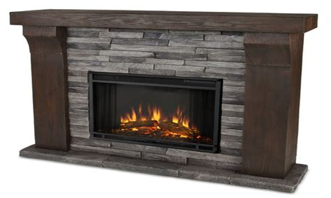 indoor stone fireplace real flame electric fireplace indoor electric fireplaces