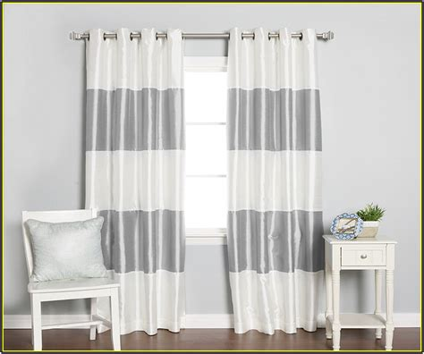 gray and white curtain gray and white blackout curtains 25 x 96 inch blackout