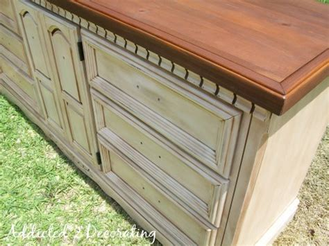How To Antique Painted Furniture by How To Paint Distress And Antique A Of Furniture