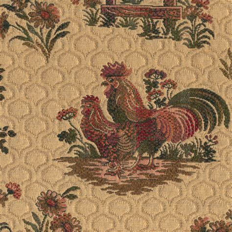 Rooster Upholstery Fabric by Rooster Fabric Lookup Beforebuying