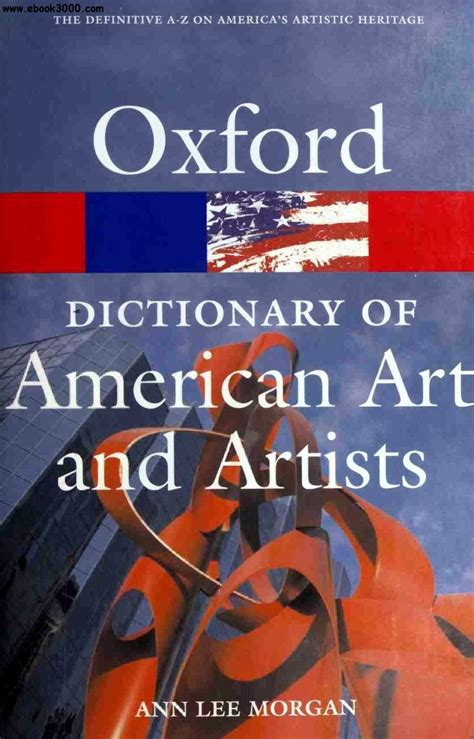 the oxford dictionary of the oxford dictionary of american art and artists free ebooks download