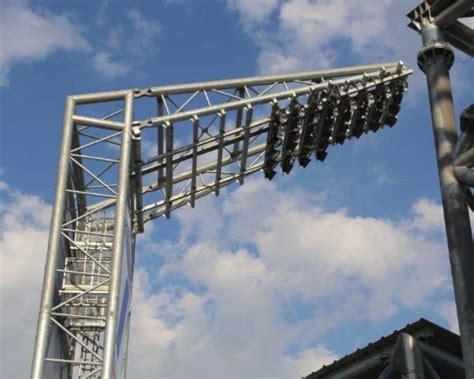 illuminazione stadio nuovo stadio di frosinone illuminato da disano