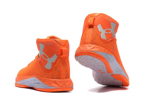 orange armour basketball shoes ua curry shoes orange
