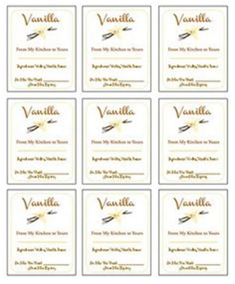 printable extract labels labels on pinterest homemade vanilla extract printable