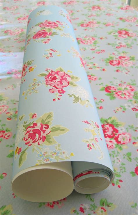 would love this cath kidston wallpaper in my room it