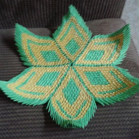 3d Origami Lotus - 3d origami lotus flower d by taimagroo on deviantart
