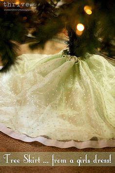 Old wedding dresses wedding dressses and christmas tree skirts