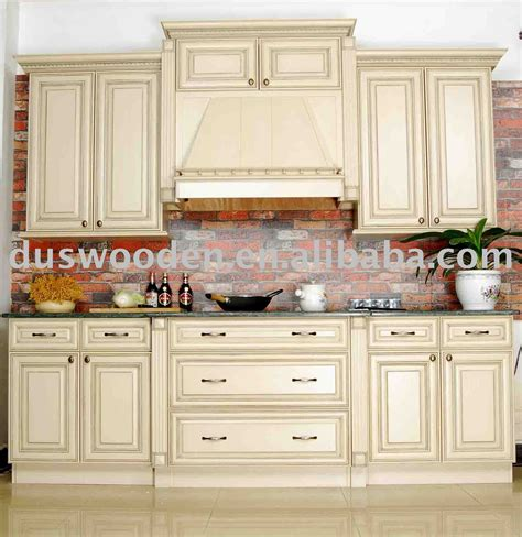 Kitchen With Wood Cabinets Solid Wood Kitchen Cabinets Decobizz