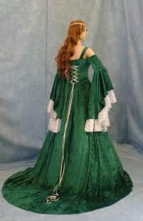 Medieval Wedding Dresses Celtic Wedding Dress Renaissance Dress Medieval By Camelotcostumes