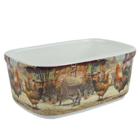 lesser and pavey leonardo collection country butter dish