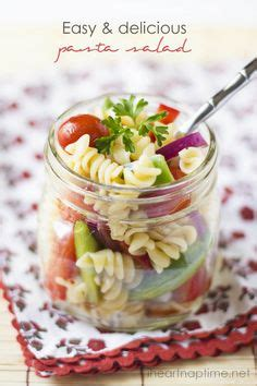 easy and delicious pasta salad fun fit and fabulous best penne pasta or 3 cups rotini pasta recipe on pinterest