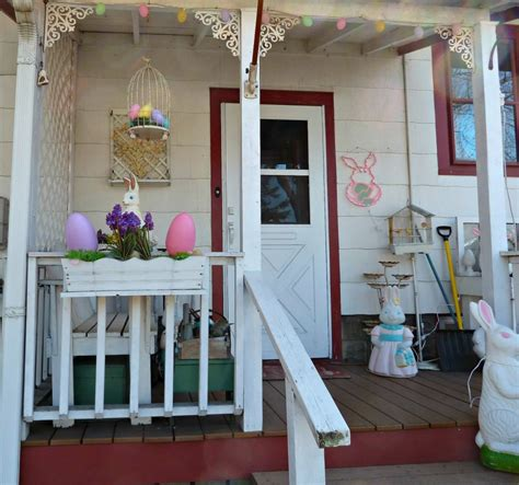 Easter Porch Decor by 45 Front Easter Porch Decoration Inspirations