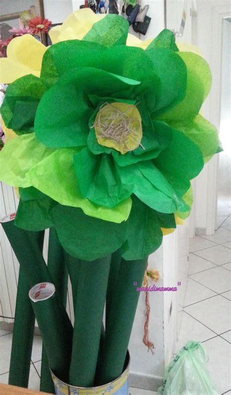 come fare fiori di carta crespa giganti oltre 25 fantastiche idee su fiori giganti su