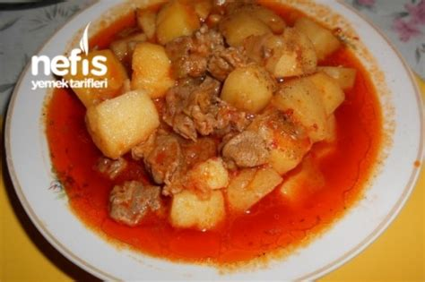 patatesli kuzu kulbasti tarifi etli yemek tarifleri kuzu kuzu kuşbaşı etli patates yemeği nefis yemek tarifleri