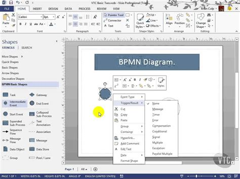 ms visio tutorials free visio template visio tutorial visio 2010