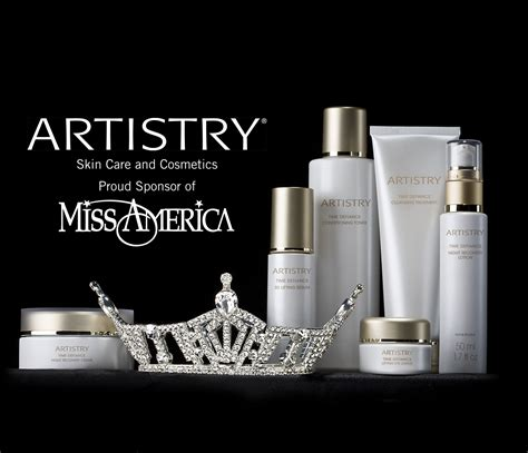 Make Up Artistry amway global and artistry r partner with the miss america