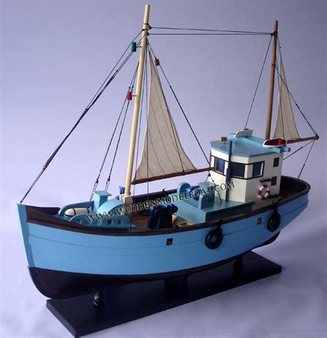 old boat models model vintage fishing boat