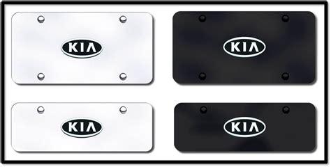 Kia License Plate Kia License Plates Vanity Logo Tags