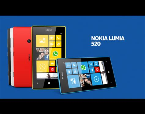 Nokia Lumia Windows8 mwc 2013 nokia s affordable windows phone 8 lumia 520 now
