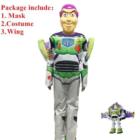 L From Story Costume by High Quality Story Buzz Lightyear Costume