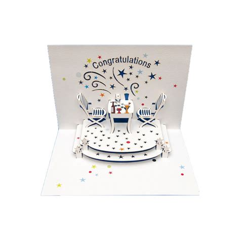 pop up anniversary card greeting card congratulations amazing pop up laser cut