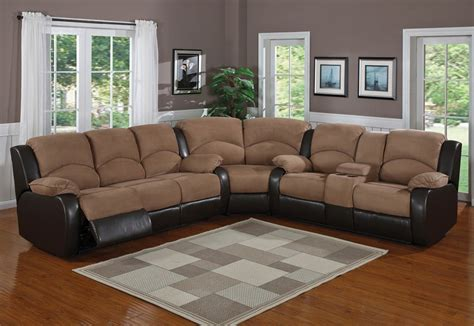 Beautiful Sectionals by Beautiful Recliner Sofas 2 Sectional Sofas With Recliners