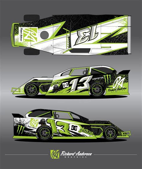 Morgan Cars Aufkleber by Race Car Wrap Design Gr 225 Ficos Pinterest
