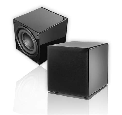 ps88 home theater subwoofer dual woofer compact design