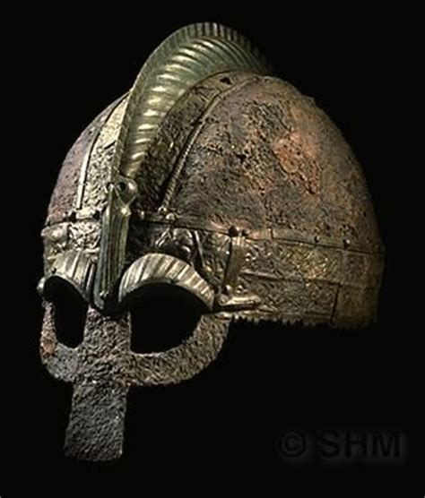 ancient viking eyewear viking helmet from grave i at vendel uppland sweden