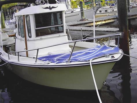 small pilot house boats shamrock 2000 diesel pilothouse small yacht for sale from