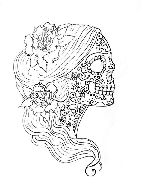 coloring pages for adults skulls detailed skull coloring pages for adults coloring pages