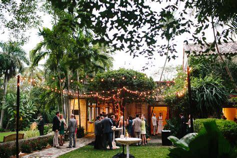 Miami Botanical Gardens Wedding Miami Wedding The Kong 17 Elizabeth Designs The Wedding