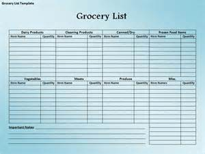 grocery inventory template printable inventory list template excel