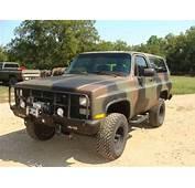 Buy Used 1984 Chevrolet M1009 CUCV Blazer K5 Military 4x4